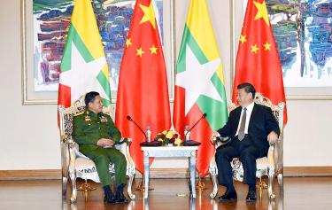 Xi stands with Myanmar despite genocide claims