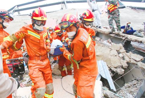 Rescue Effort Underway as Hotel Collapses in China, Trapping People Under Debris