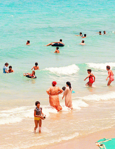 Veils Swapped For Bikinis On Women Only Beaches In Egypt Taipei Times