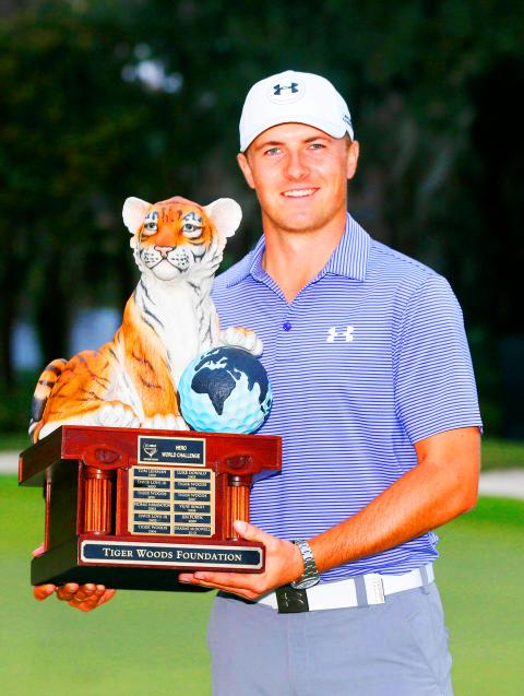 Sizzling Spieth chasing McIlroy after Hero win - Taipei Times