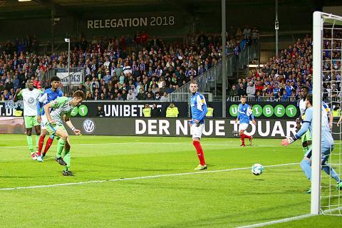 Vfl Wolfsburg Beat Holstein Kiel To Stay Up Taipei Times