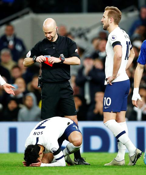 Spurs' Appeal Of Son Red Card Rejected