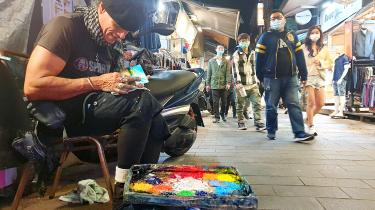 Inspiring 'one percent' of humanity through art