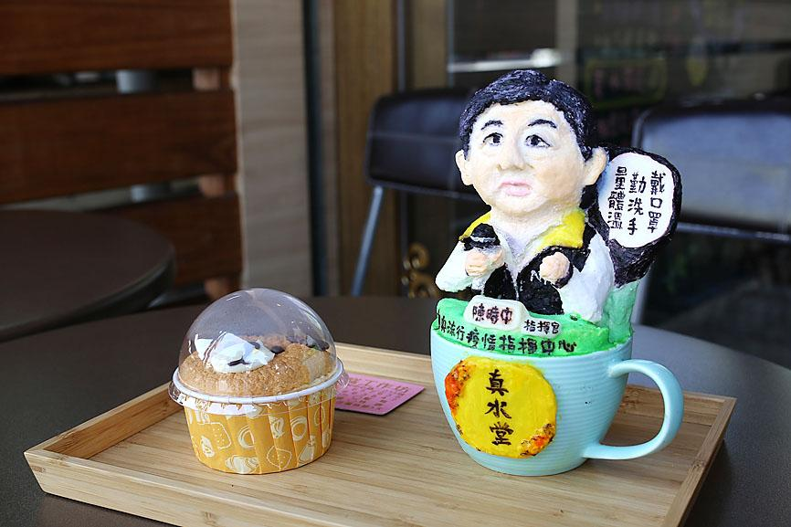 Virus Outbreak: Former nurse pays Chen Shih-chung homage in latte