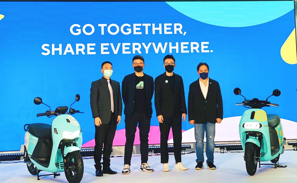 GoShare eyes Tainan for its scooter-sharing service