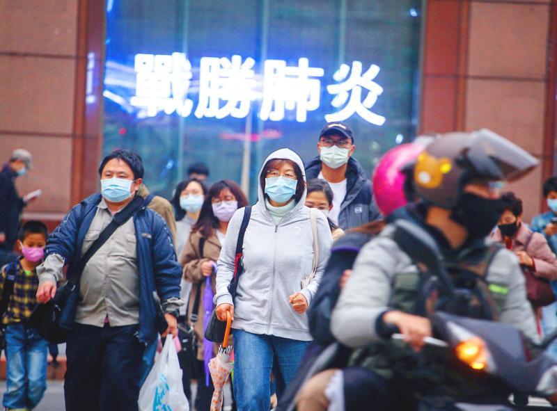 Virus Outbreak: Tsai, VP urge unity against COVID-19