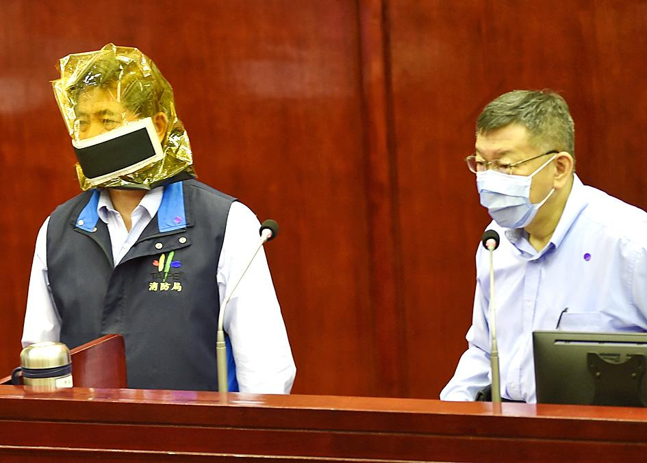 Taipei mayor points to Cashbox misconduct in fire