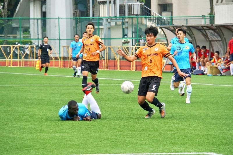 Chen Jui-chieh fires brace, but Tatung held 2-2