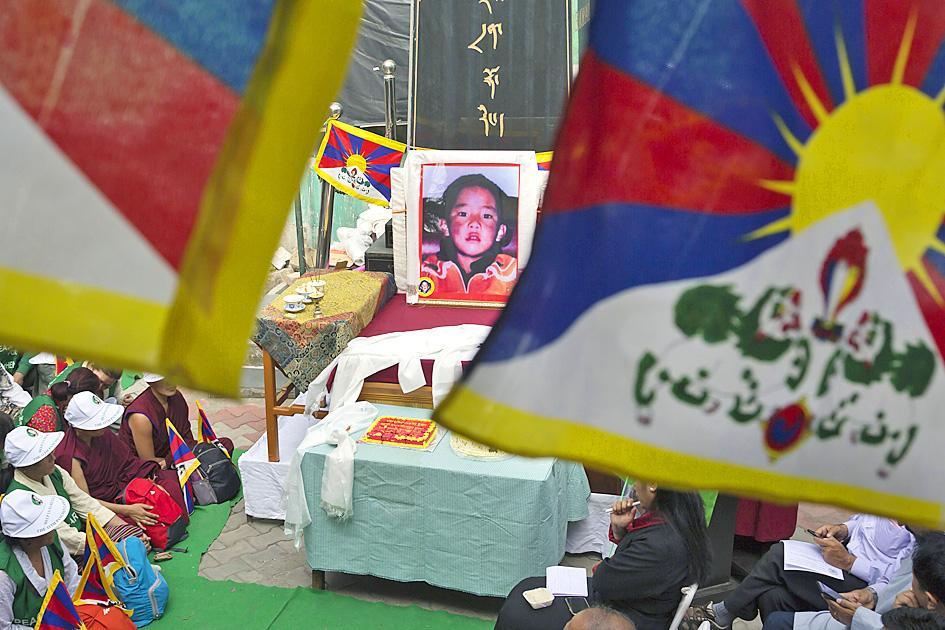 Tibetans demand China disclose fate of boy taken away in '95