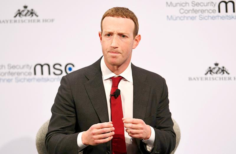 Zuckerberg warns against China's influence on internet regulations