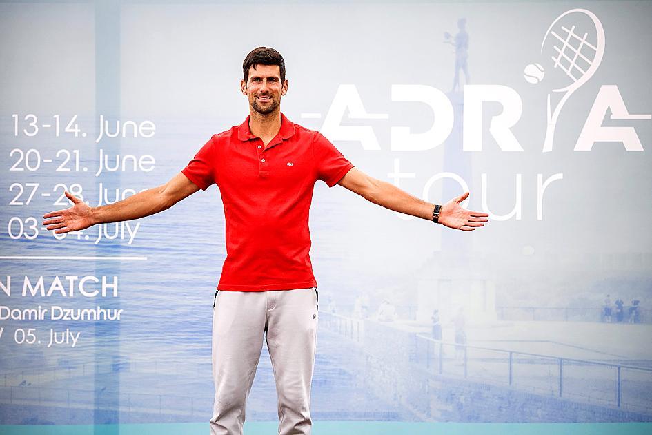 Djokovic to host Balkan tennis event
