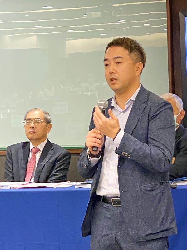 Advantech founder's son joins board