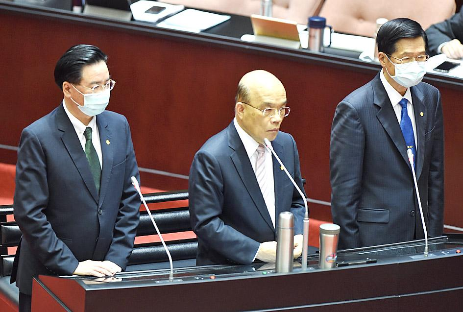 Taiwan will resist 'one country, two systems': premier
