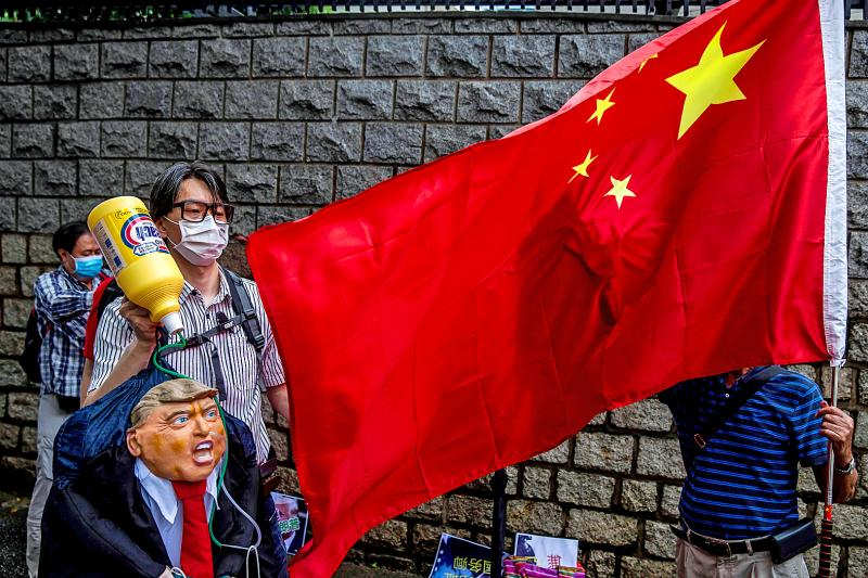 Chinese media bristle over USA moves over HK