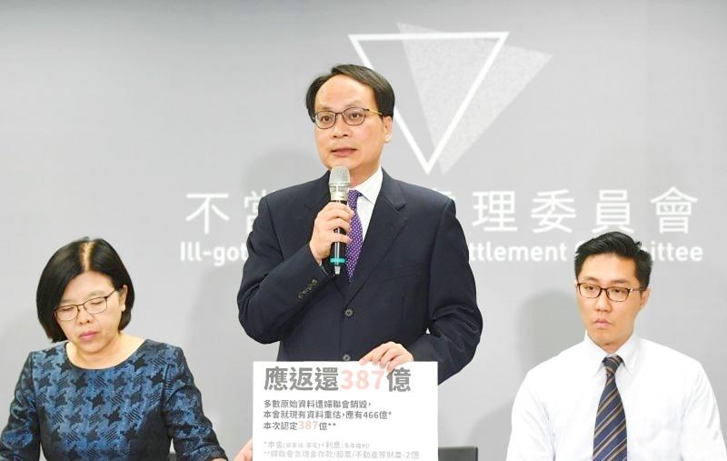 KMT illegally acquired land: assets committee