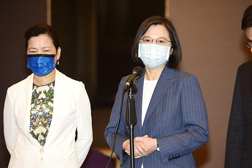 Tsai warns China against overreaching