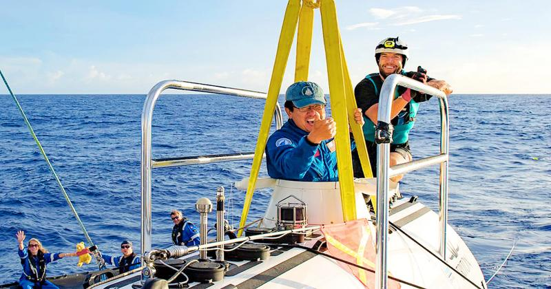 FEATURE: Taiwanese-born scientist dives to Earth's deepest part