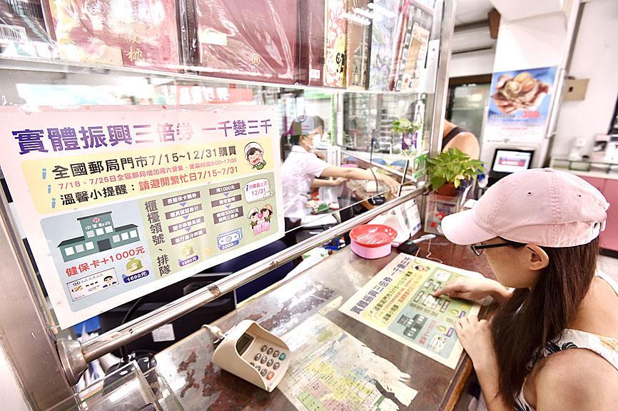Chunghwa Post voucher system starts