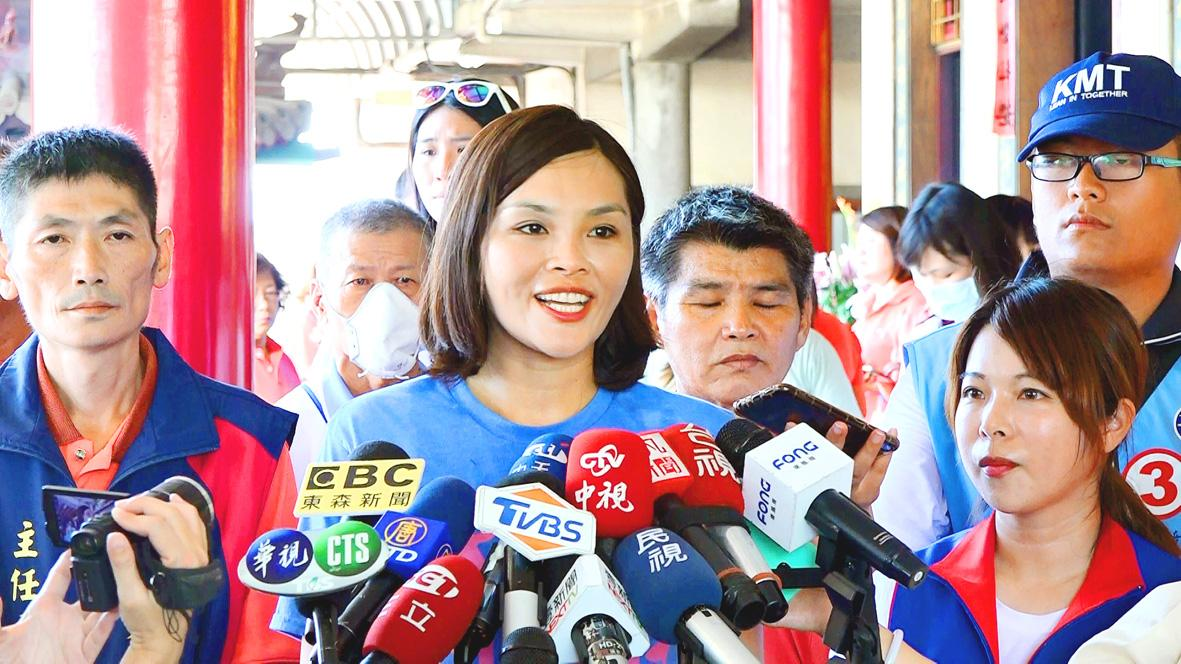 Chen Chi-mai rejects Jane Lee's 'poverty' comments