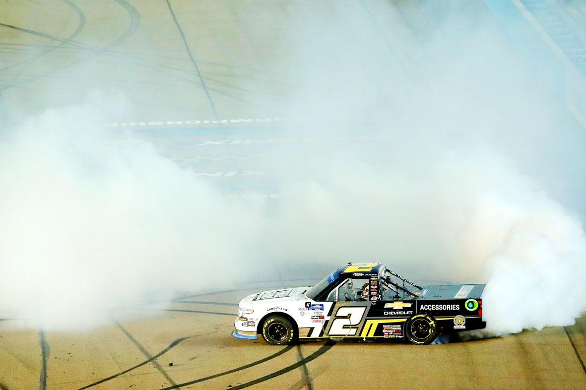 Sheldon Creed's Heroics Earn Him the NASCAR Truck Championship at Phoenix