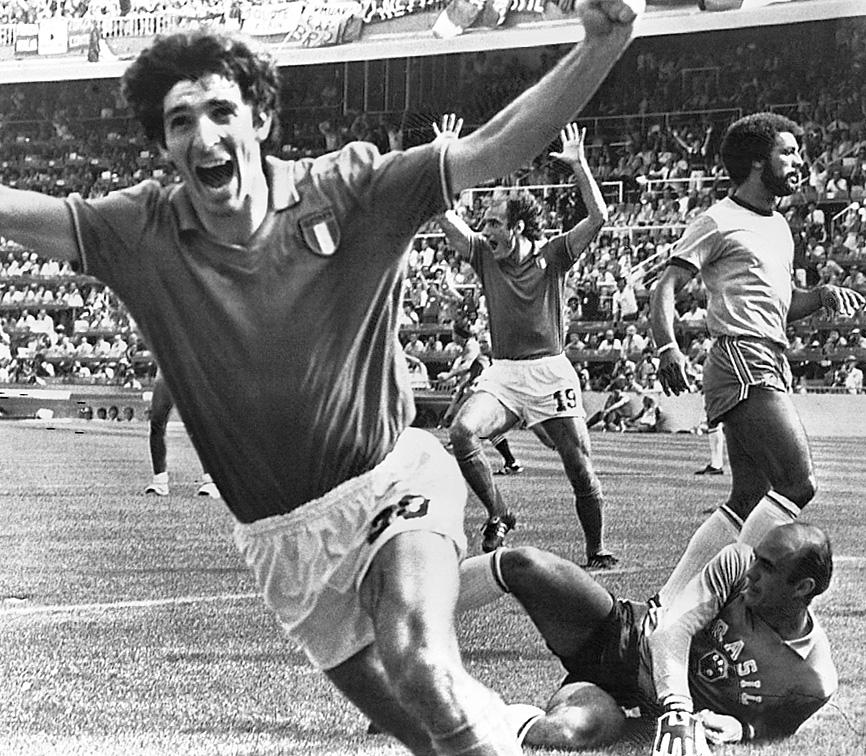 Italy's 1982 World Cup victor Paolo Rossi dies aged 64
