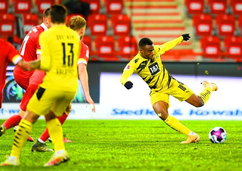 Moukoko becomes youngest Bundesliga scorer but Dortmund loses to Berlin