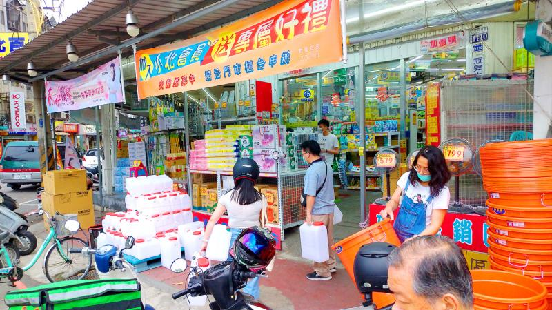 Taichung braces for water supply cuts - Taipei Times