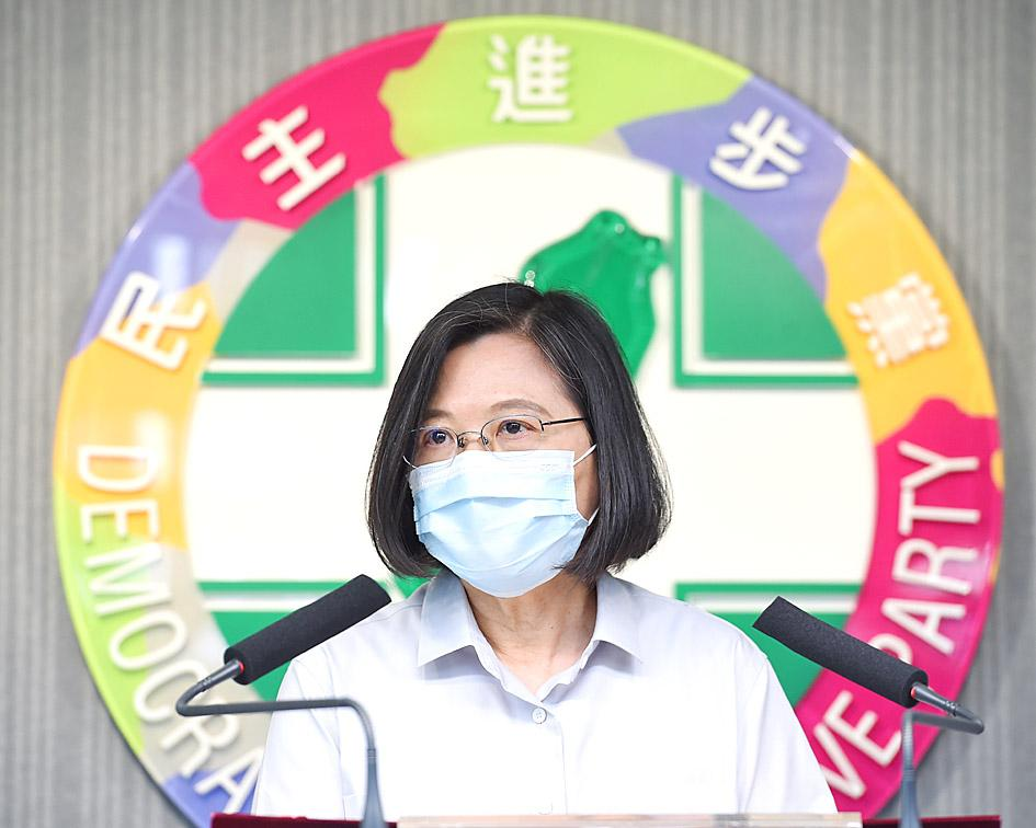 Law and Order: Tsai apologizes over crime links