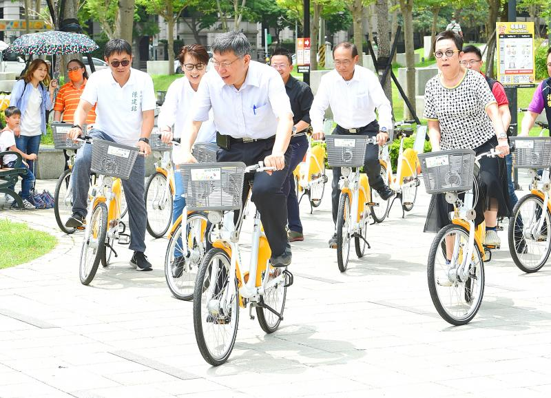 Taipei launches upgraded YouBike system