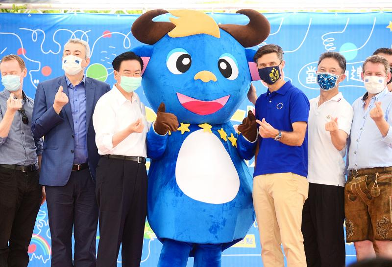 Two-day festival celebrating Europe starts in Taipei