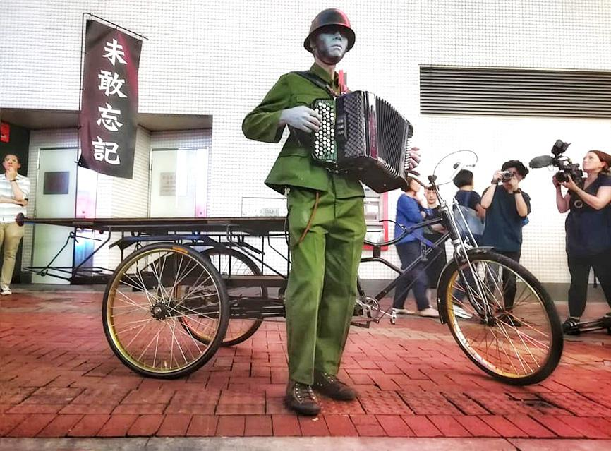 HK artist says he came to Taiwan for '100% freedom'