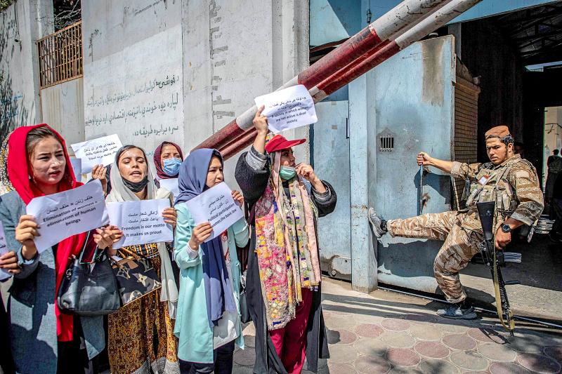 Afghan women outraged by work ban
