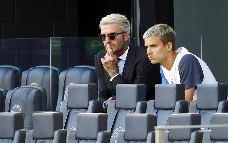 Romeo Beckham's debut impresses Inter Miami coach