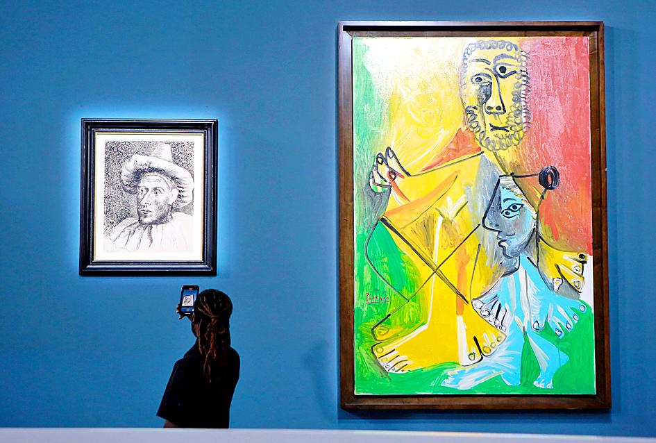 Picasso artworks in Las Vegas fetch over US$100m